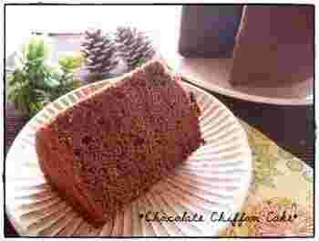 太白胡麻油を使えば、ごまの香りはしないのです。シフォンケーキにも安心して使ってみて。