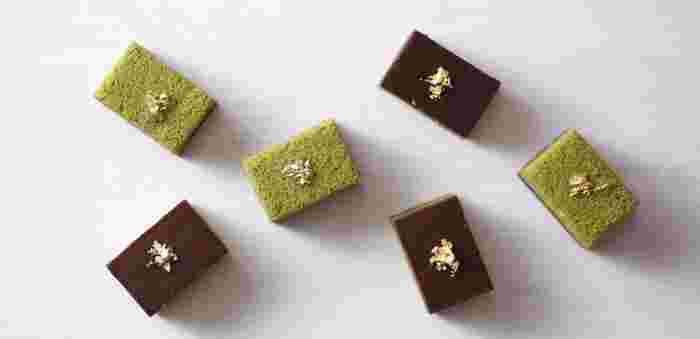 食べるのがもったいないくらい、美しい和菓子は鬼川店に併設された喫茶でいただいたり、金沢市にある店舗で購入することができます。