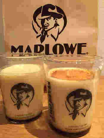 素材にこだわった安心の味わい、「MARLOWE(マーロウ)」のビーカープリン。もともとはレストランのデザートメニューでした。