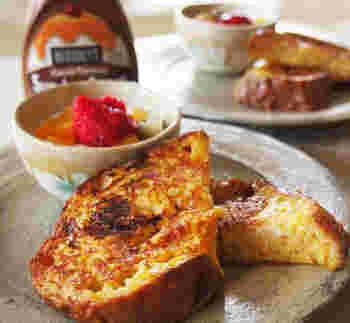 食パンを使えば朝食にもよさそうですね♪