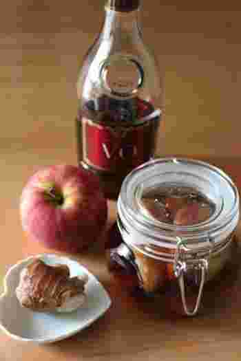 医者知らずといわれるリンゴと生姜。冷えた身体にしみ込んでくれるフルブラは、寒い季節にピッタリです。