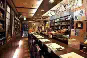 信州の地酒を中心にお酒の種類も豊富なので、郷土料理に舌鼓をうちながら、至福の時間を楽しんでくださいね。
