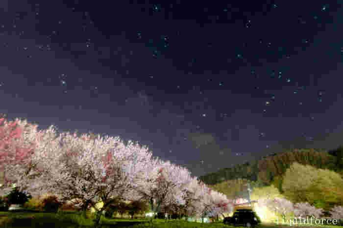 長野県南部最大の温泉郷「昼神(ひるがみ)温泉」。温泉街がある阿智(あち)村は、日本一の星空と花桃の里として有名な村です。とても小さな村ですが、見どころはたくさん!一人旅や日帰り旅行の地としても人気を集めます。東京や名古屋発のバスツアーも大変人気です。