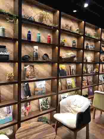モダンな館内には5,000冊以上の漫画や雑誌を常設。  女性専用スペースには、足をゆったり伸ばしてくつろげる大きなソファが。女性一人での深夜の利用も安心ですね。