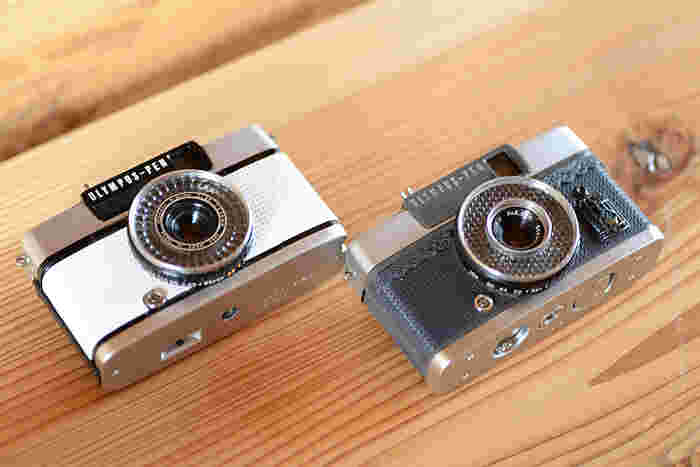 初期にデザインしたというカスタムカメラ。