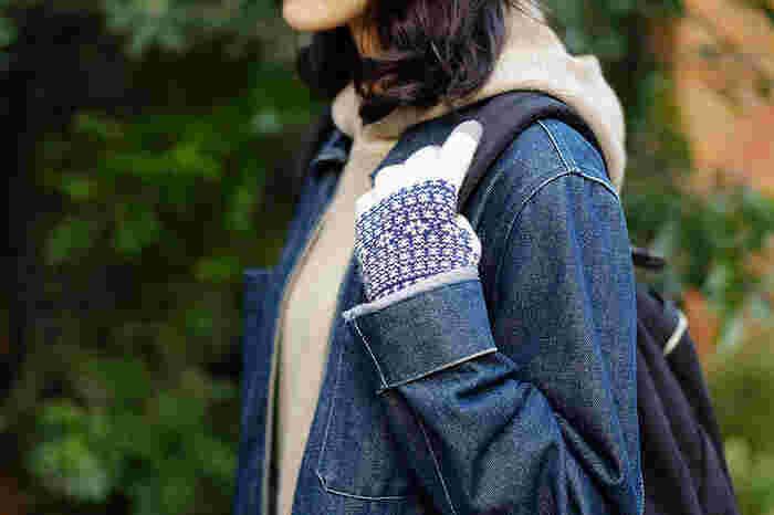 機能だけでなく「FLEUR(フルール)」シリーズは、ノルディック調のデザインが冬らしくてオシャレ。カジュアルな装いを素敵に演出してくれそう。