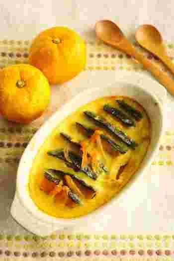 冬至の日に使った柚子とかぼちゃの余りでできちゃう一品♪ほくほくの甘いかぼちゃと爽やかなゆずの香りがたまらない♡お手軽スイーツです。