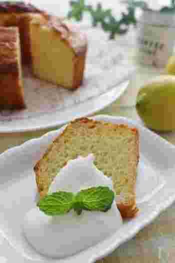 爽やかな風味を楽しむ【型別】レモンケーキのレシピ