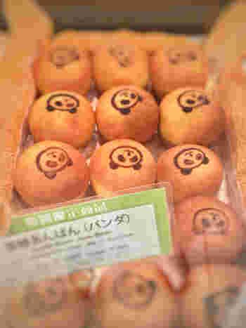 軽井沢が本店の『ブーランジェリー浅野屋』ecute上野店では、たくさんの種類のパンダパンが販売されていますよ♪