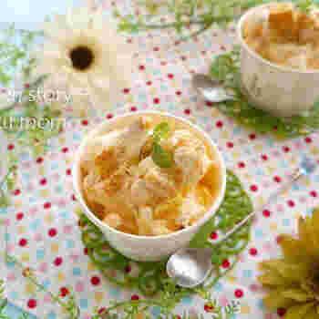 市販のアイスやパイ、そしてりんごジャムなどを混ぜるだけ!30秒程度であっという間にできるアップルパイ風アイスです。いろんな味が溶け合い、なんともいえない美味しさです。