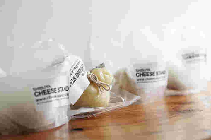 こちらでのオススメは出来立てのフレッシュチーズたち!