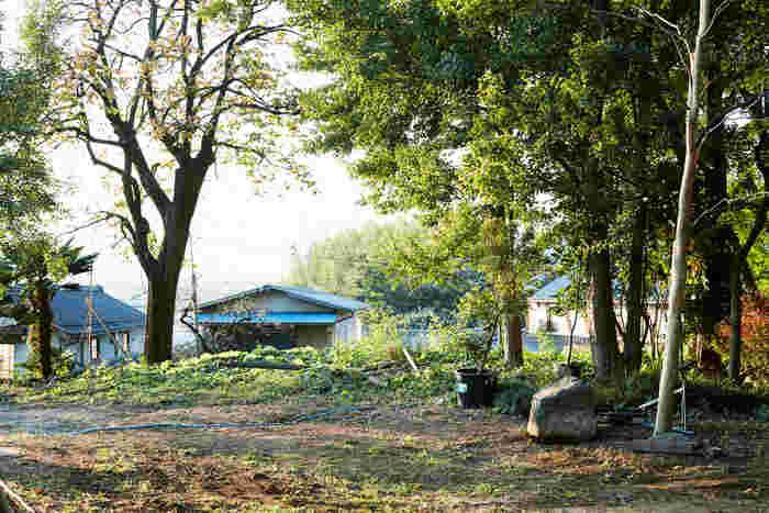 山梨県中央市関原。広大な盆地が見渡せる、まるで時が止まったかのような静かで落ち着く場所