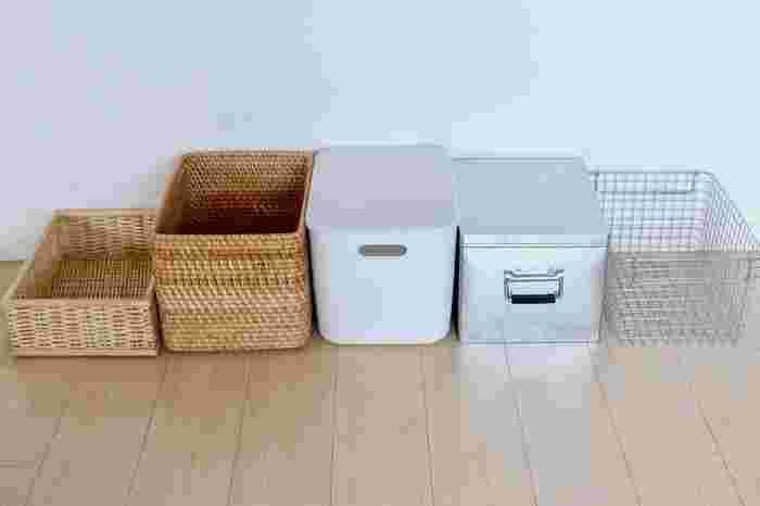 お部屋のお片づけに欠かせない「収納ボックス」の種類も豊富なので、どれを選べばいいか迷ってしまいますよね。そこで今回は、素材・用途に合わせて選べるおすすめの収納用品ご紹介します。あなたのお部屋にピッタリなものをぜひ探してみてくださいね♪