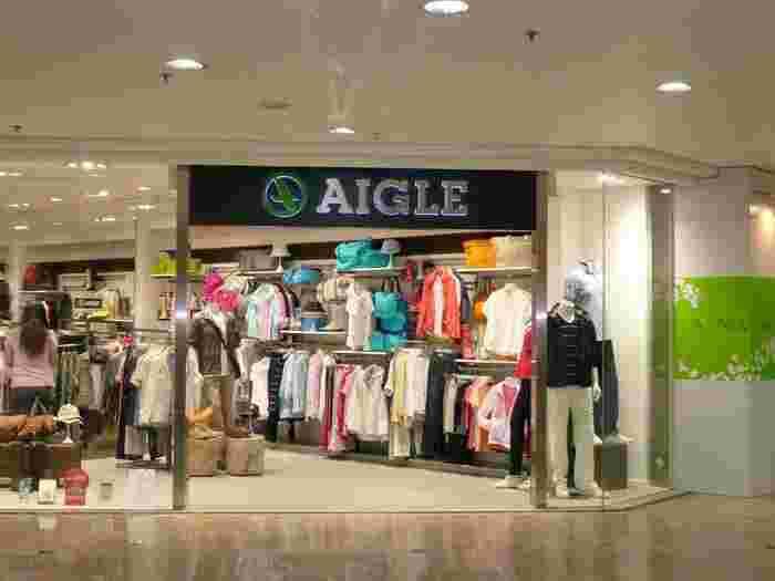 レインブーツで人気のAIGLEはフランスのブランドです。ファッション性に優れたスタイリッシュなアイテムがそろいます。