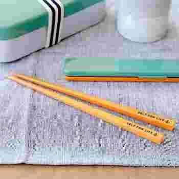 プラスチックの箸は、扱いが簡単で手軽に使えるのが魅力です。箸先が滑りやすい事があるので、滑り止め加工がある物がおすすめです。