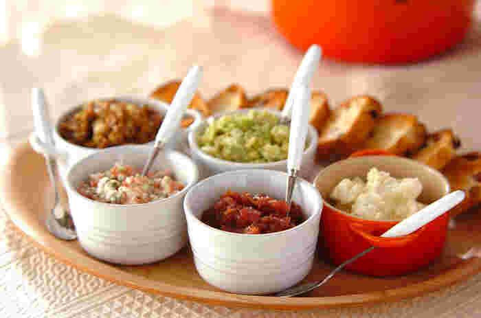 バリエーション豊富!レストランで食べるみたいな「ディップソース」をおうちで作りませんか♪