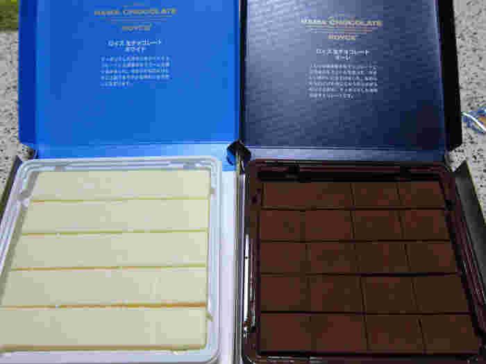 1983年に札幌市で創業し、生チョコブームを作ったブランド・ROYCE'(ロイズ)。社長はチョコレートの本場ベルギー王国在札幌名誉領事に任命されるほどの本格派ブランドです。常時100種類以上のお菓子を製造・販売しているそう。北海道産の生クリームをつかった生チョコレートだけでも、かなりの種類があります。