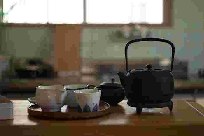 一生ものの『南部鉄器』の急須と過ごす、ゆったりとしたお茶時間…♪