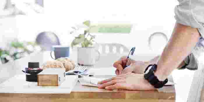 「いいこと貯蓄」は、決して毎日書く必要はありません。毎日ハッピーなことがあればうれしいけれど、何より大切なのは「自分のまわりにがこんなにハッピーなことがあったんだ!」と素直な気持ちで気づくことです。「毎日書かないといけない」と思ったら、ハッピーなことは見つかりにくくなってしまいます。日記ではないので、忙しいときはまとめて書いても大丈夫です。