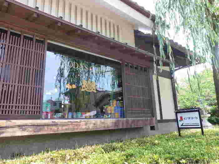 京都の老舗珈琲店「イノダコーヒ」。ここ産寧坂にも支店があります。