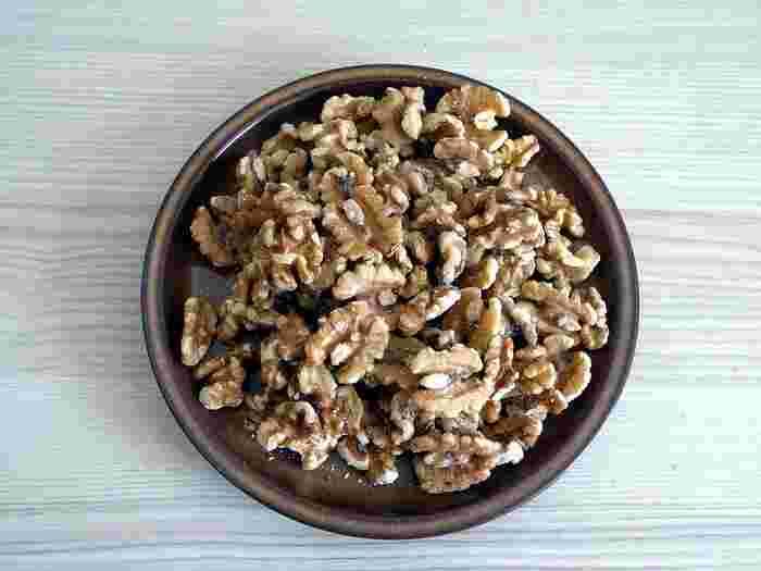 ナッツの中でも栄養満点!身体にも美味しい【くるみ】のレシピ