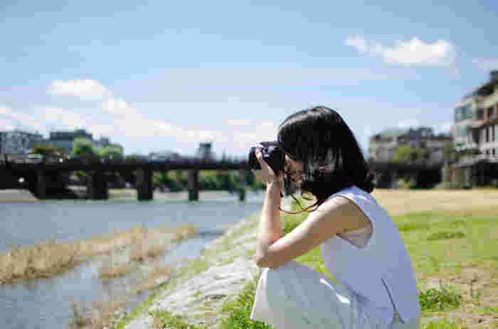 カメラを持って、京都のなんでもない景色を撮影してみましょう。今まで知らなかった京都の魅力を発見することができますよ。