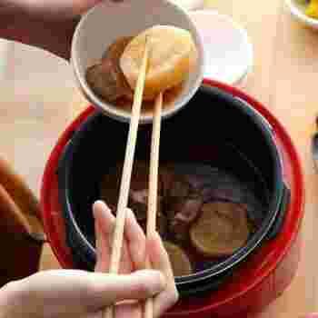 圧力鍋なので、根菜などの固いお野菜もトロトロに。お肉や野菜も柔らかにしあがるので、その実力に驚く方は多いはず。料理がラクに楽しくなる、魔法のような逸品です。