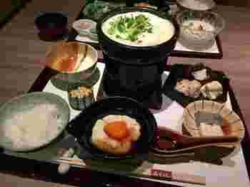 ランチは各種御膳や会席も。いずれも本格的な湯葉料理を堪能できます♪