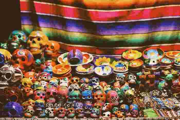 メキシコのカラフル可愛いガイコツ祭り【死者の日】がすごい