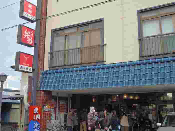 岩手の中でも最も歴史が古い精肉店として知られる「米内商店」。こちらは、米内商店が運営する焼肉レストランです。人気店なので、予約するのがおすすめ。