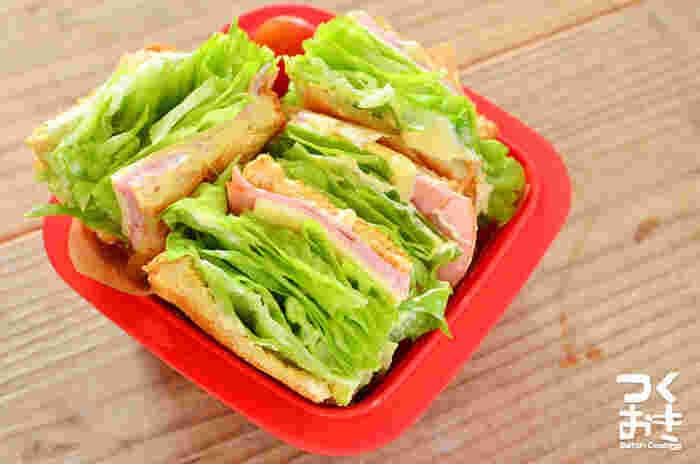 脱マンネリ!美味しく可愛い「サンドイッチ」のアレンジアイデアレシピ集