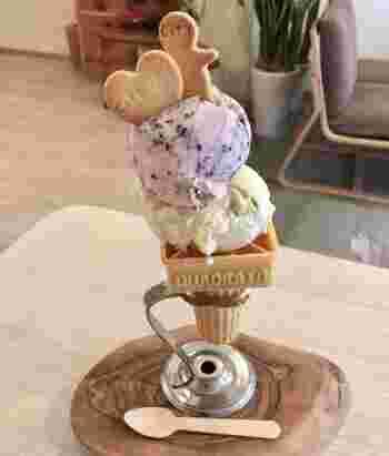 無添加にこだわったアイスの種類は季節によっても様々♪可愛くて美味しいアイスは冬にも食べたくなってしまうアイスですので、冬場にも是非お立ち寄り下さい!