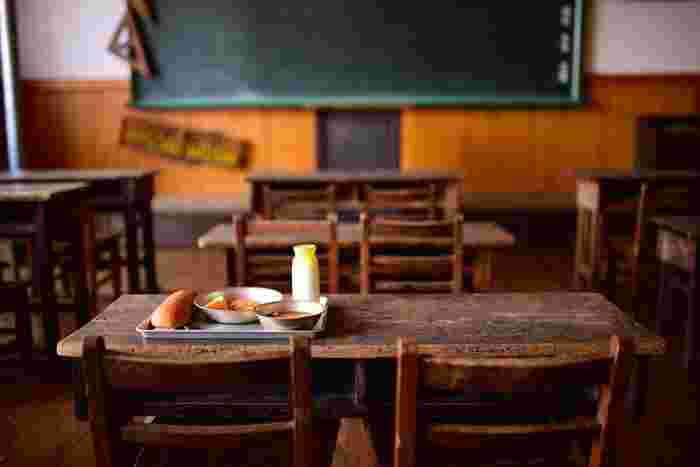 コッペパンは、昭和10年代に学校給食用として作られ、材料も食パンとほとんど同じもので作られているそう。
