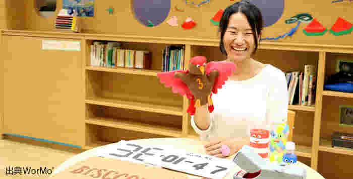 日常の中にほっこりアイディアがいっぱい! 佐藤蕗(さとう ふき)さんの手作りおもちゃ