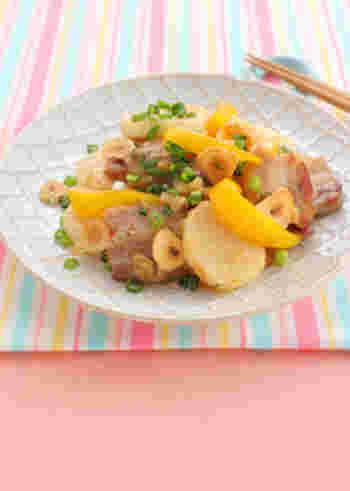 豚肉に山芋、にんにくといった、お疲れ時に食べたい食材をこれ一皿でばっちり食べられるスタミナおかずのレシピです。レモンと塩だれのさっぱり感で食べやすいですよ♪