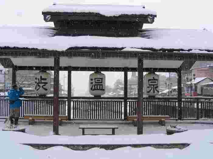 まずご紹介するのは、長野県北部、下高井郡山ノ内町にある「渋(しぶ)温泉」です。この後ご紹介する「湯田中(ゆだなか)温泉」と合わせて「湯田中渋温泉郷」と呼ばれています。長野県内でも特に人気の温泉地です。