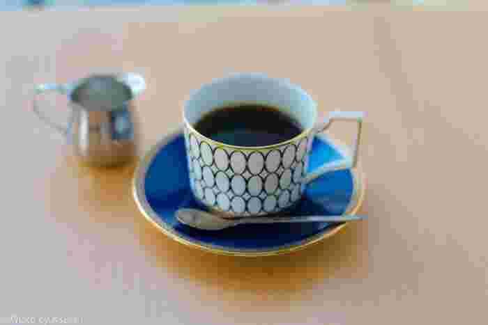 マスターが一杯ずつ丁寧に淹れてくれるドリップコーナーは格別。 いつでもフラッと立ち寄りたい、そんな気軽さが嬉しいカフェです。