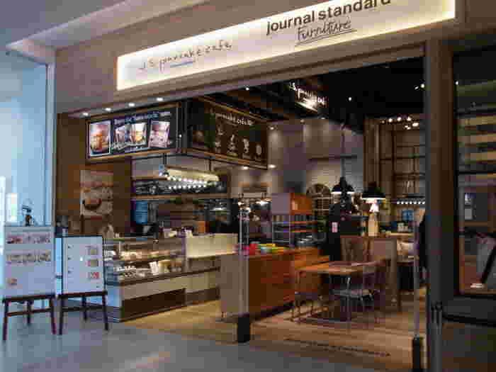みなとみらい駅直結の「MARK IS みなとみらい」の1FにあるJ.S. PANCAKE CAFE(ジェイ エス パンケーキカフェ)は、パンケーキ専門カフェです。