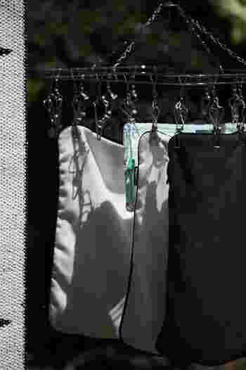 気温が高い方が洗濯ものも乾きやすくなります。年末に大物を洗ってもなかなか乾かなくて困ったことがある人もいるのではないでしょうか?ちょっとでも気温の高いうちに洗濯しておく方が効率がいいですよ♪