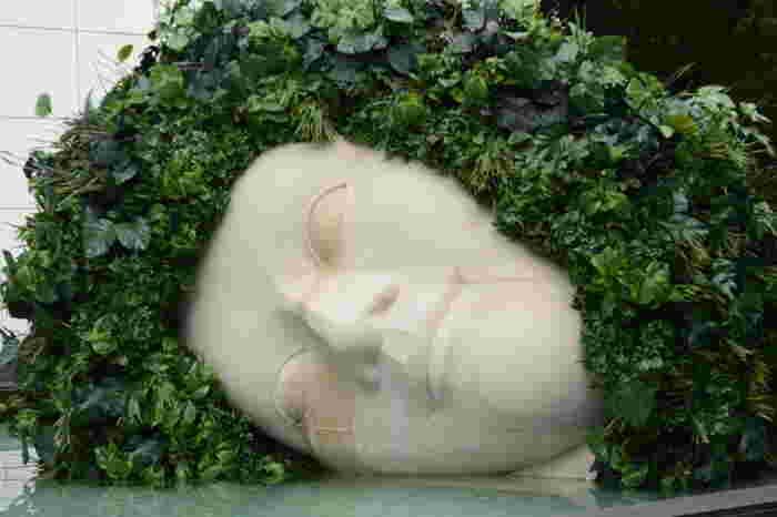 フランソワ=ザビエ、クロード・ラランヌ「嘆きの天使」。目から涙を流しており、その涙が溜まっている形になっています。