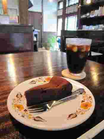 自家製ケーキとコーヒーの香りに包まれながらのゆったりとしたカフェタイム。旅の途中でそんな贅沢な時間を過ごすのも醍醐味ではないでしょうか?