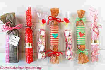 ホームパーティなどで、テーブルにお持ち帰り用のプチプレゼントを置いておくのもいいですね。