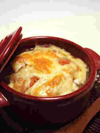 寒くなる季節により食べたくなります。こんがり焼けたチーズと甘味が十分引き出されたオニオンスープが美味です。