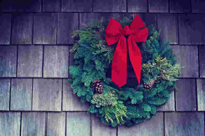 手作りクリスマスリース|折り紙の作り方やおしゃれなサラダも