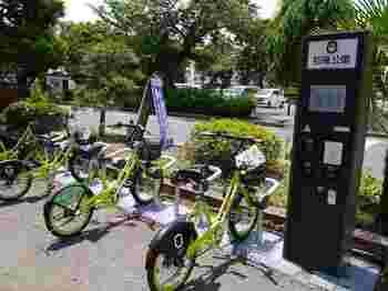 川越市では自転車シェアリングを運営しており、本川越駅、川越駅はもちろん市の中心市街地のステーションで利用・返却することが可能です。