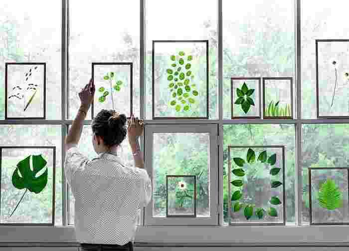 コペンハーゲンを拠点とするブランドの、シンプルなフレーム。 なんと、「自然」を収めてインテリアとして飾る、という画期的な商品なんです!