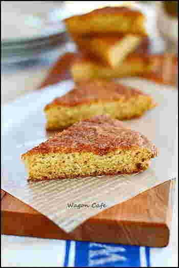 ストウブで大きく焼いて切り分けるタイプのクッキー。ソフトな生地なので、焼きすぎないのがポイントです。