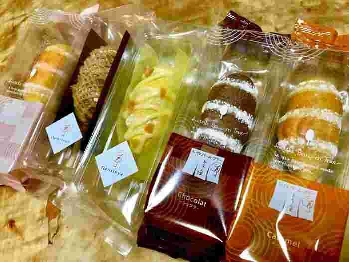 プレーンやショコラなどの定番商品をはじめ、季節限定や品川駅限定の味もあり、何度訪れても新鮮です。個包装されていて、配りやすいのもうれしいポイント♪