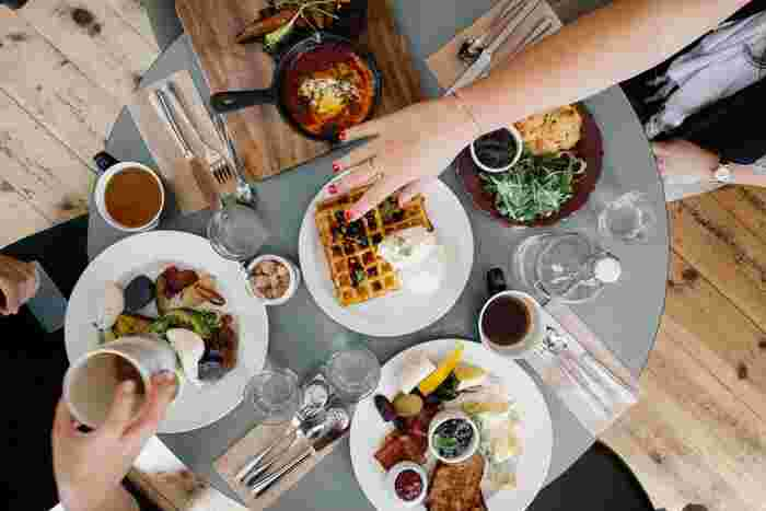 健康に気を使うことは大切。だけど、食べることを楽しめなくなるくらいなら、ちょっとくらい身体にお肉がついてしまっても気にすることはないのです。