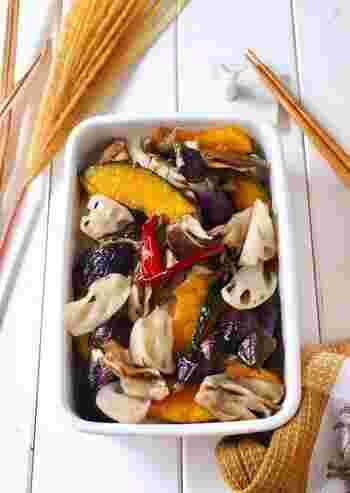 旬の【秋野菜】をたっぷりと。体に優しい「ヘルシーメニュー」レシピ